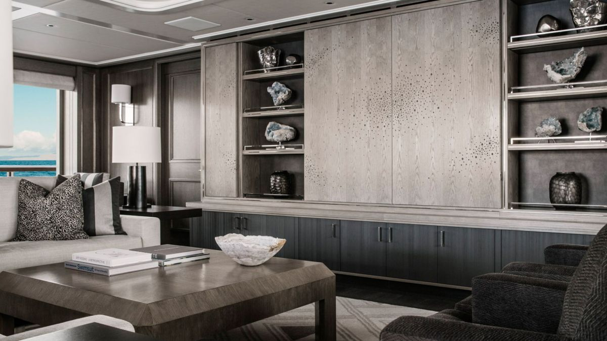 metrica Yacht Interior Residential Saloon Design